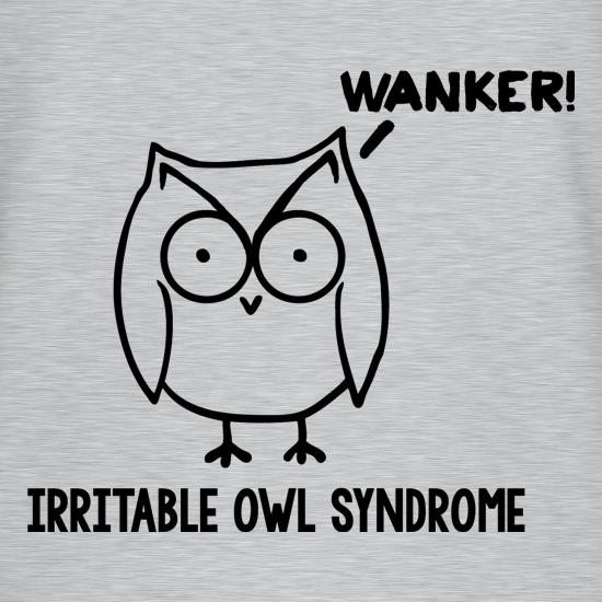 Irritable Owl Syndrome t shirt