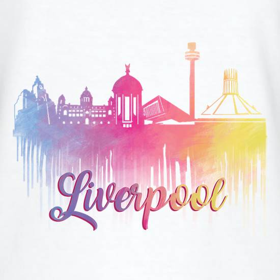 Liverpool Silhouette t shirt