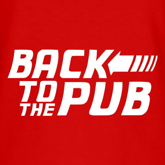 Back To The Pub t shirt
