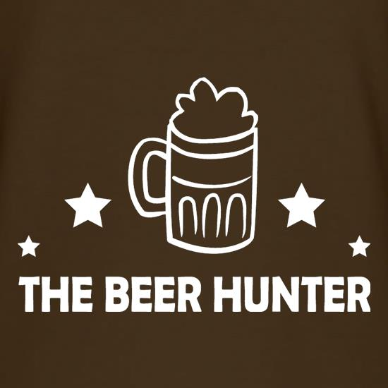The Beer Hunter t shirt
