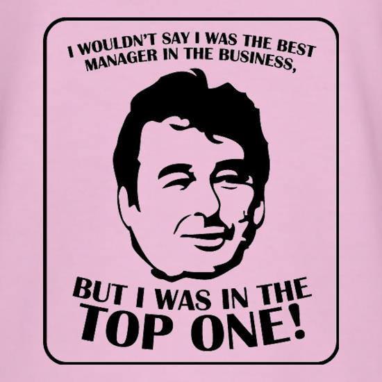 Brian Clough t shirt