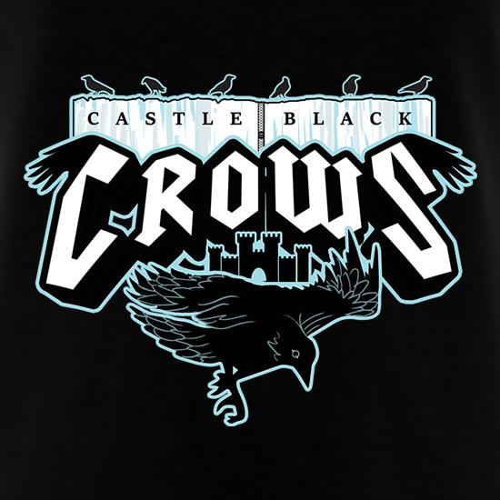 Castle Black Crows t shirt