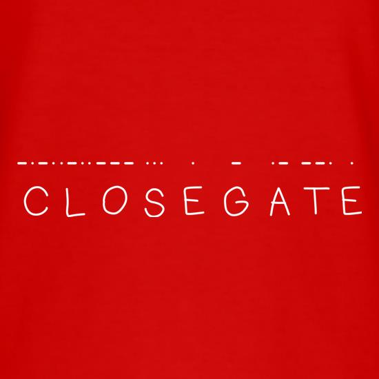 Close Gate t shirt