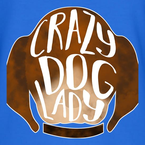 Crazy Dog Lady t shirt