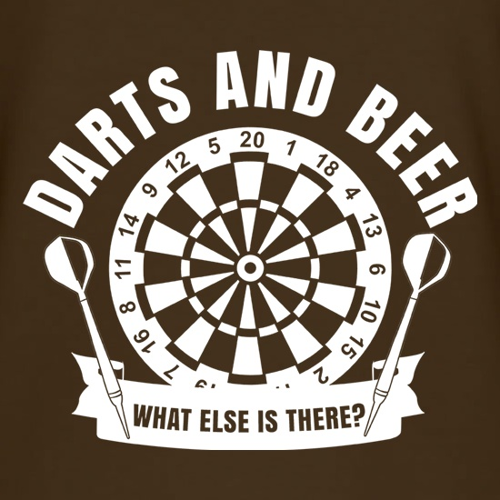 Darts & Beer t shirt