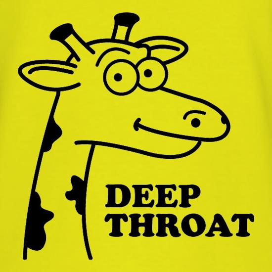 Deep Throat t shirt