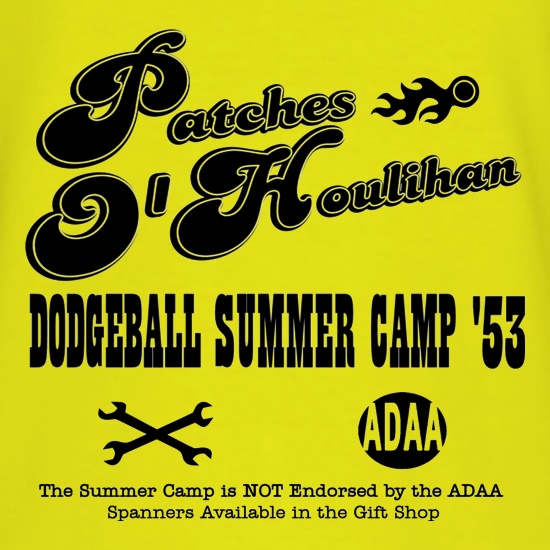 Dodgeball Summer Camp t shirt