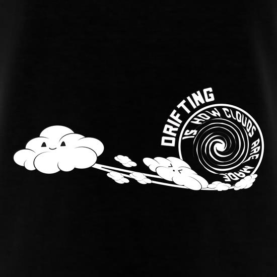 Drifting Clouds t shirt