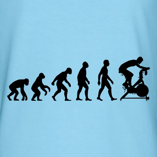 Evolution Of Man Spin t shirt