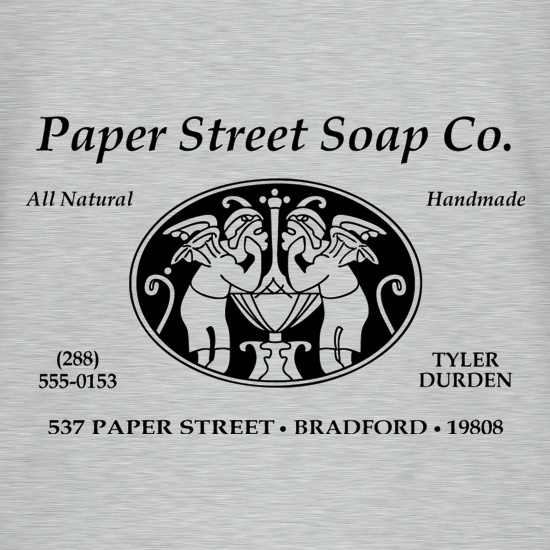 Fight Club - Paper Street Soap Company t shirt