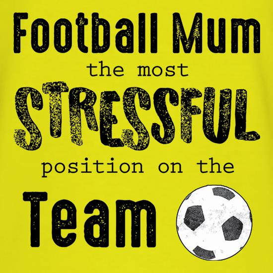 Football Mum t shirt