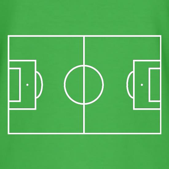 Football Pitch t shirt