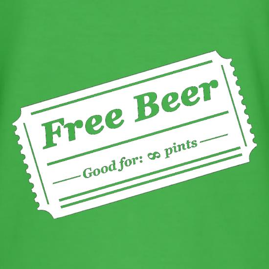 Free Beer t shirt