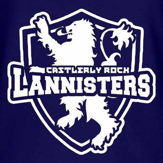Game Of Thrones - Team Lannister t shirt