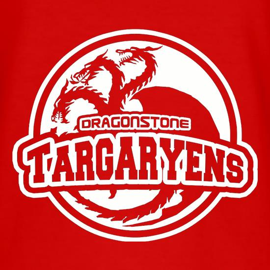 Game Of Thrones - Team Targaryen t shirt