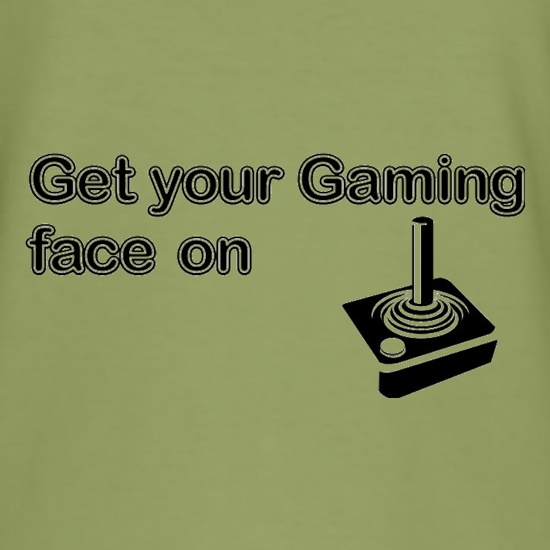 Get Your Gaming Face On t shirt