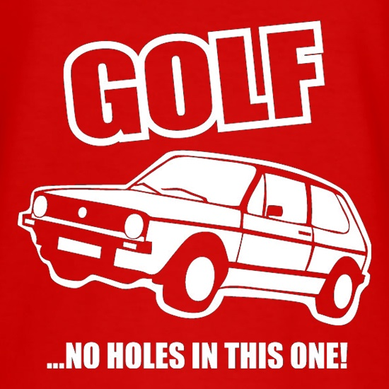 Golf...No Holes In This One! t shirt