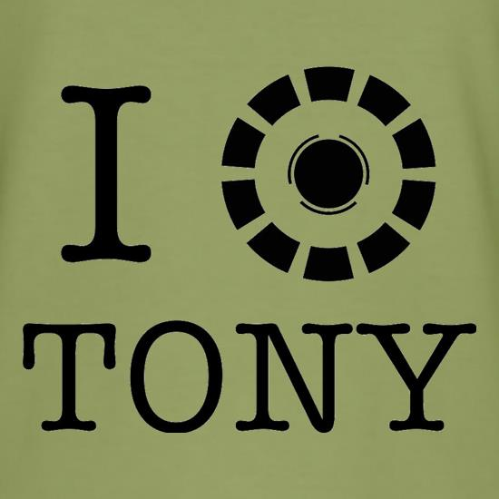 I Heart Tony Stark t shirt