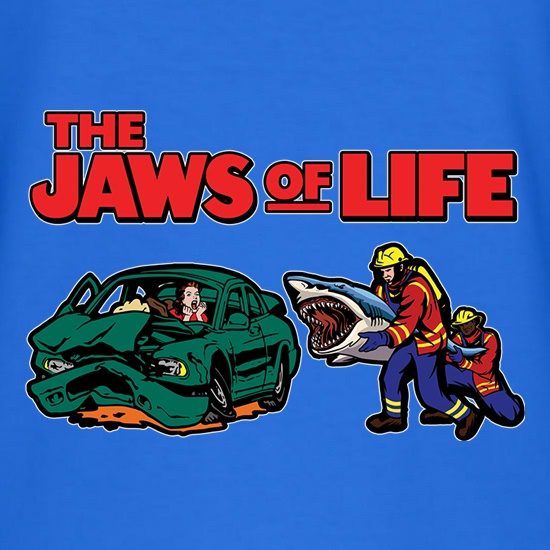 Jaws of Life t shirt