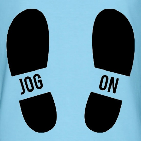 Jog On Feet t shirt