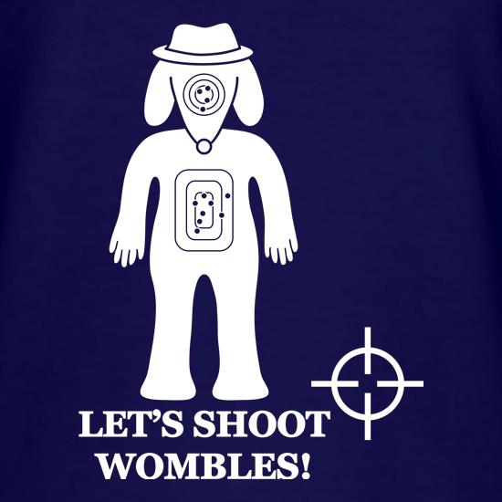 Let's Shoot Wombles t shirt