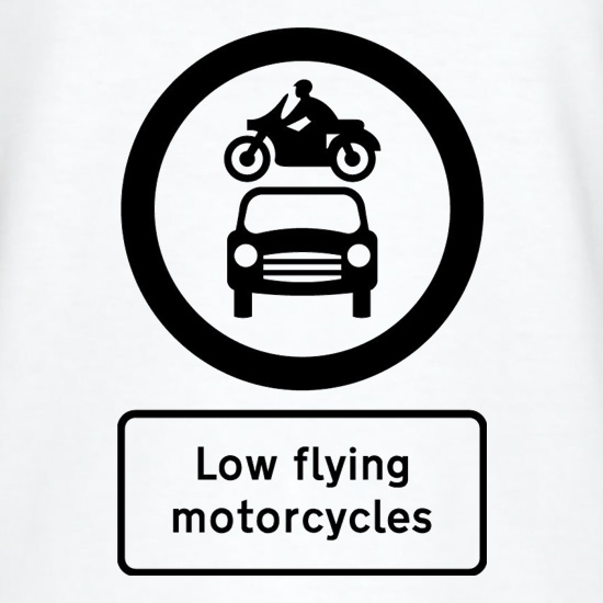 Low Flying Motorcycles t shirt