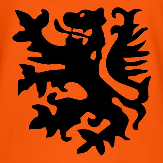 Netherlands Lion t shirt