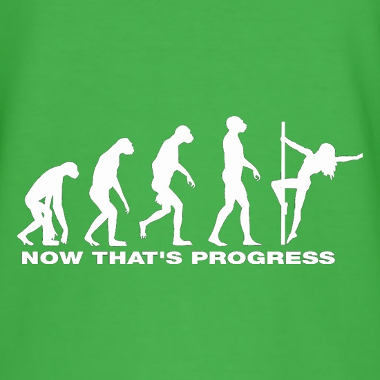 Now That's Progress t shirt