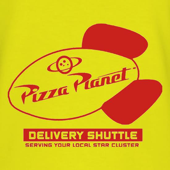 Pizza Planet t shirt