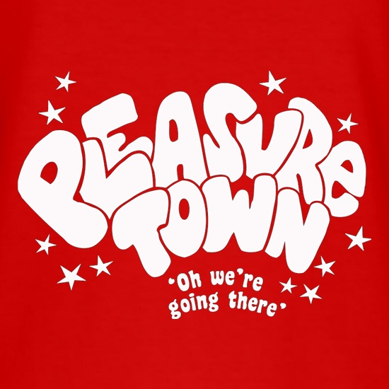 Pleasure Town t shirt