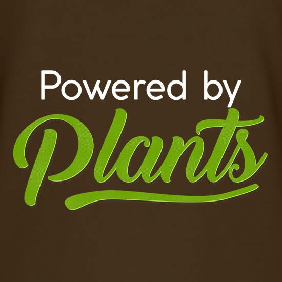 Powered By Plants t shirt