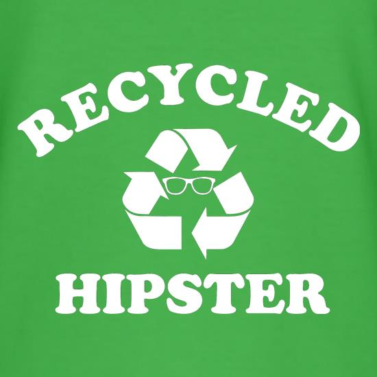 recycled hipster t shirt