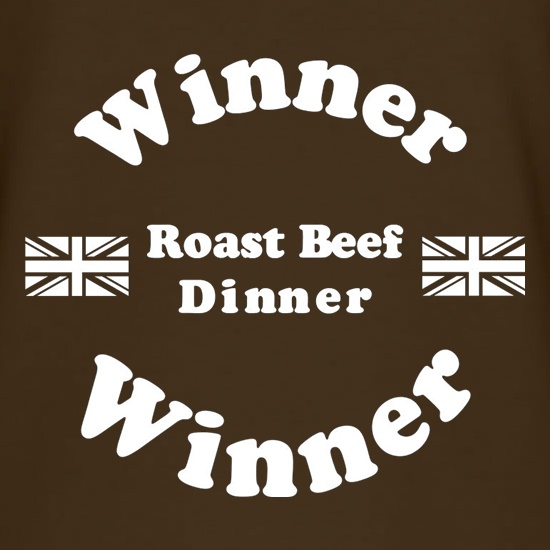 Roast Beef Dinner Winner t shirt