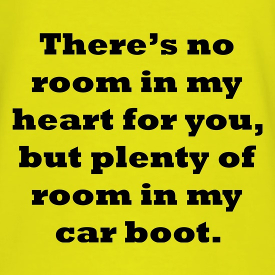 Room in my heart t shirt