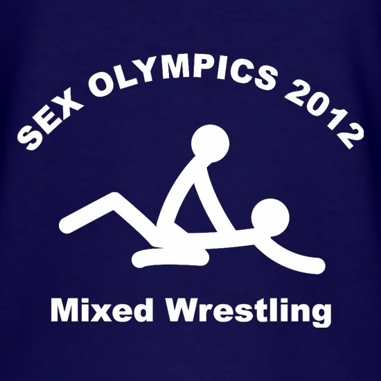 Sex Olympics Mixed Wrestling t shirt