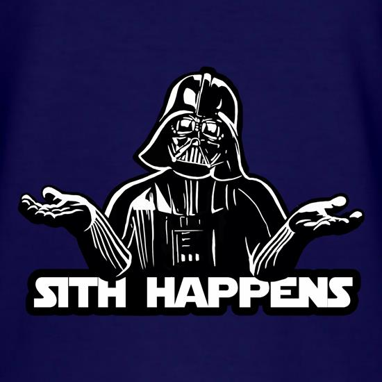 Sith Happens t shirt