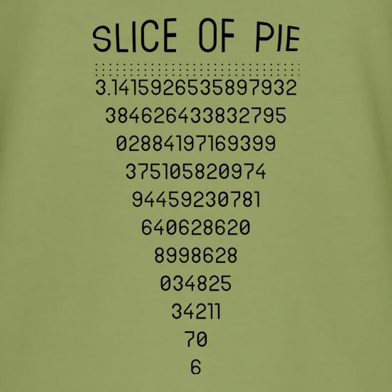 Slice Of Pi t shirt
