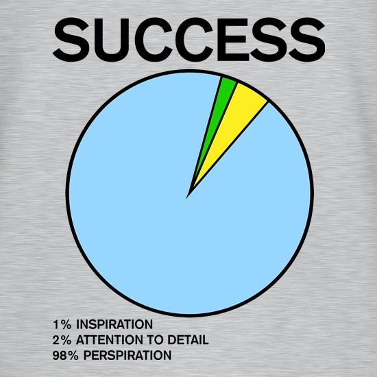 Success Pie Chart t shirt