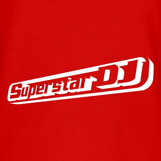 Superstar DJ t shirt