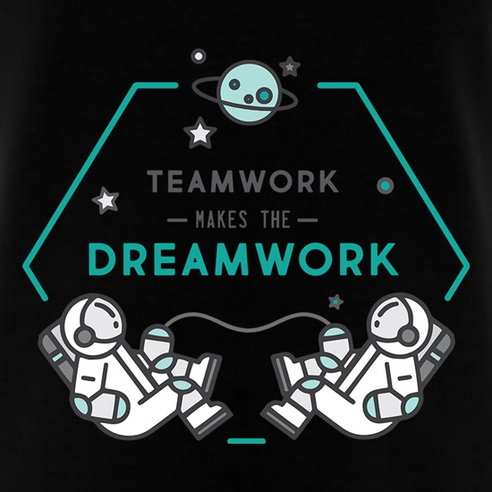 Team Work Makes The Dream Work t shirt