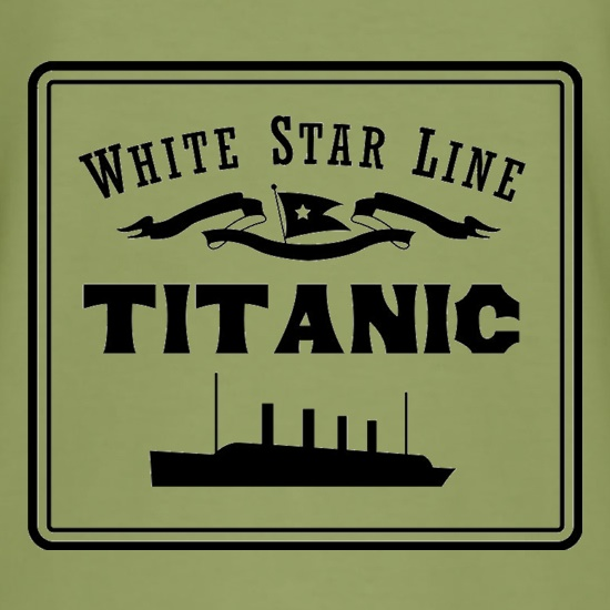 White Star Line Titanic t shirt