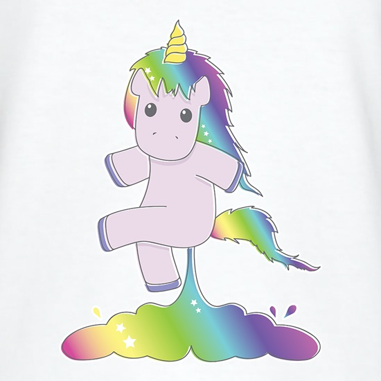 Unicorn Farts t shirt