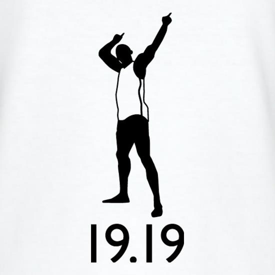 Usain Bolt 19.19 t shirt