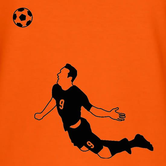 Van Persie Diving Header t shirt