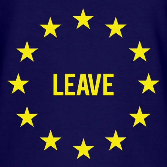 Vote EU Leave t shirt