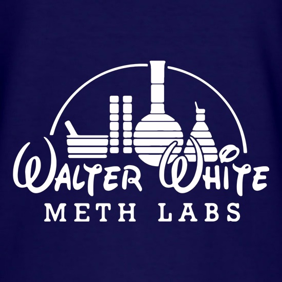 Walter White Meth Labs t shirt
