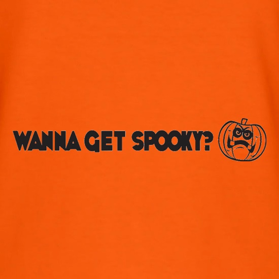 Wanna Get Spooky? t shirt
