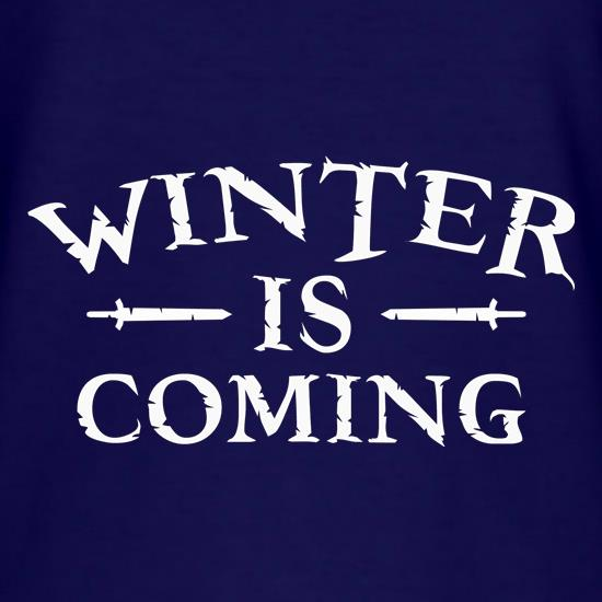 Winter Is Coming t shirt