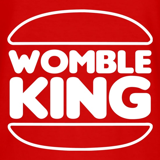Womble King t shirt