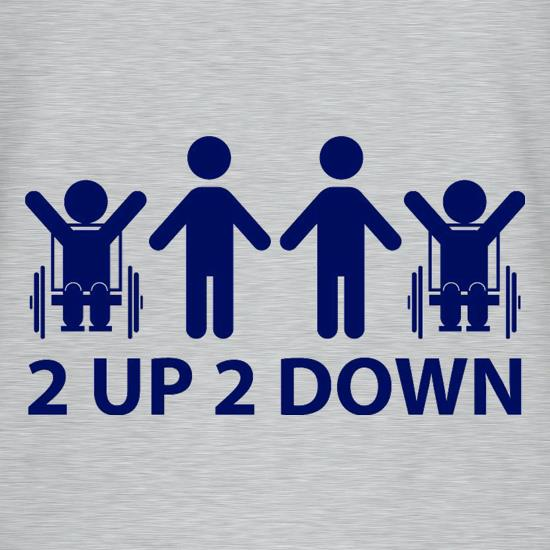 2 Up 2 Down t shirt